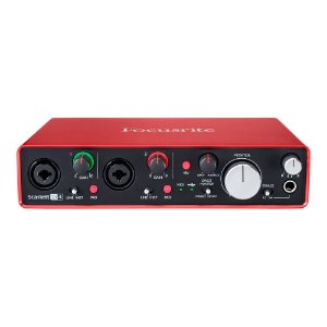 Interface USB Focusrite Scarlett 2i4 2nd Gen