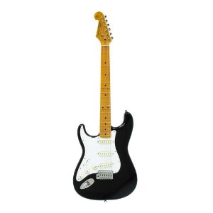Guitarra SX Strato SST 57 LH BK
