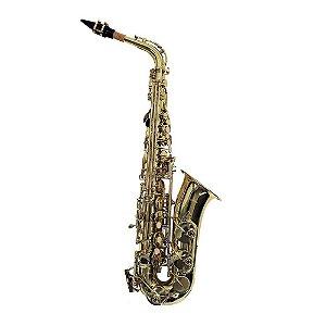Saxofone Alto Laqueado Shelter SFT 64 30 L