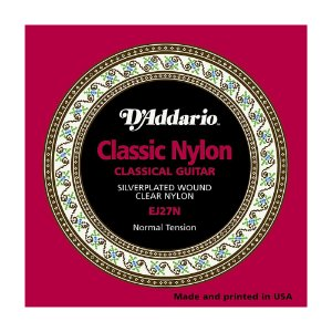 Encordoamento Violão Nylon D'Addario EJ 27 N Tensão Normal