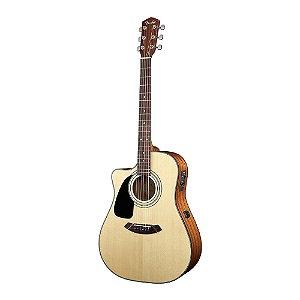 Violão Folk Canhoto Fender CD 100 CE LH
