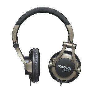 Fone Over-Ear Shure SRH 550 DJ