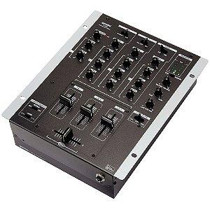 Mixer DJ 3 Canais Gemini PS 626 X