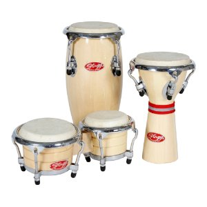 Kit Percussão Infantil Stagg BCD N SET