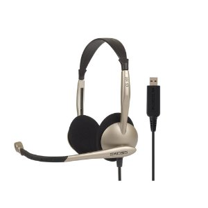 Fone Over-Ear Headset Koss CS 100 USB