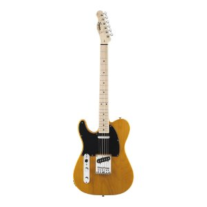 Guitarra Tele Squier by Fender Affinity LH Butterscotch Blonde