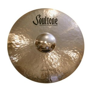 "Prato Chimbau 10"" Soultone Custom Brilliant Hi-Hat SCBH 10"