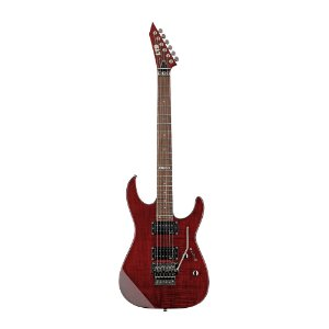 Guitarra Original LTD by ESP M 100 FM See Thru Black Cherry