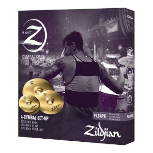 Set Pratos Zildjian Planet Z PLZ 4 PK 14/16/20?