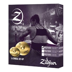 Set Pratos Zildjian Planet Z PLZ 14/18""
