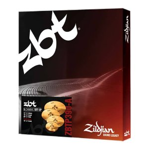Set Pratos Zildjian ZBT Five ZBTP 390 A14/16/18/20""