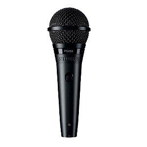 Microfone Mão Shure PGA 58 XLR