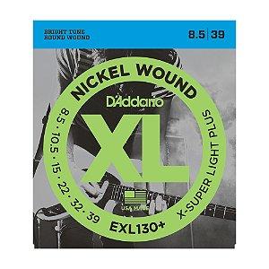 Encordoamento Guitarra D'Addario 0,85 EXL 130