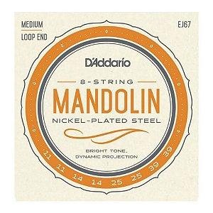 Encordoamento Bandolin D'Addario 0,11 EJ 67