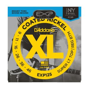 Encordoamento Guitarra D'Addario 0,09 EXP 125