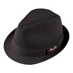Chapéu Fender Black Pin G/XG - Preto