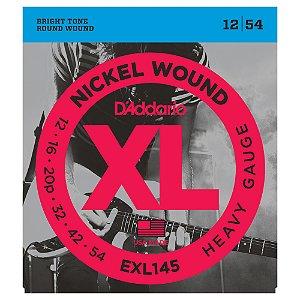 Encordoamento Guitarra D'Addario 0,12 EXL 145