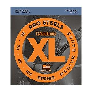 Encordoamento Contrabaixo 4C D'Addario 0,50 EPS 160