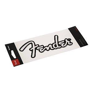 Adesivo Fender Logo Branca