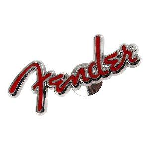 Broche Fender Logo Vermelho