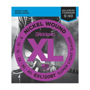 Encordoamento Guitarra D'Addario 0,09 EXL120 BT