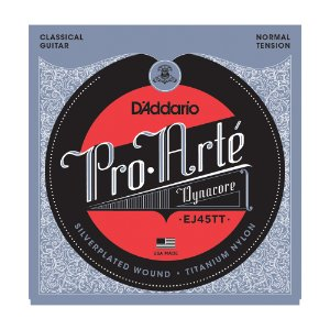 Encordoamento Violão Nylon D'Addario EJ 45 TT Tensão Normal