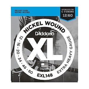 Encordoamento Guitarra D'Addario EXL 148 0,12