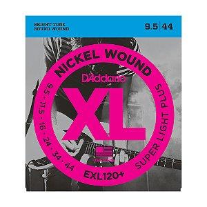 Encordoamento Guitarra D'Addario 0,095 EXL 120