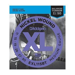 Encordoamento Guitarra D'Addario 0,11 EXL115