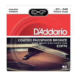 Encordoamento Mandolin D'Addario 0,11 EXP 74