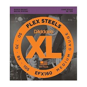 Encordoamento Contrabaixo 4C D'Addario 0,50 EFX 160