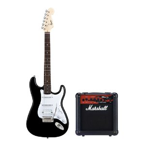 Kit Squier Strato HSS   Marshall MG 10 KK
