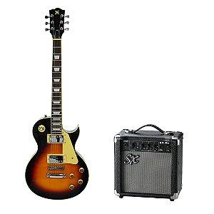 Kit SX Guitarra LP EG2 + Combo + Acessórios