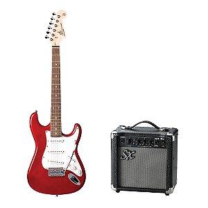Kit SX Guitarra Strato EG1K + Combo + Acessórios