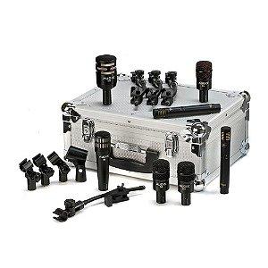 Kit Microfone percurssão Audix DP 7