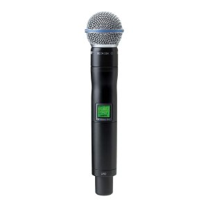 Microfone sem fio Mão Shure UR 2 Beta 58 A L 3