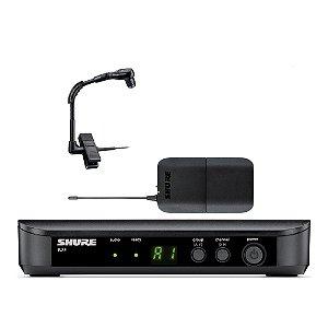 Sistema sem fio Instrumento Shure BLX 14 Beta 98 HC - J10