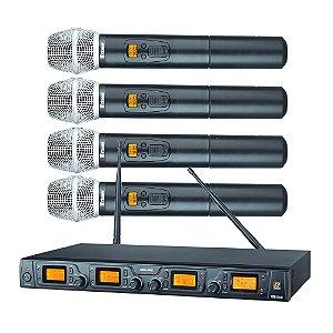 Sistema sem fio Quadruplo Mão Staner SRW 48 Q