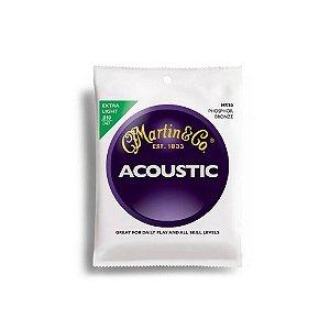 Encordoamento para violão Martin Acoustic Phosphor Bronze Light Aço