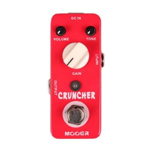 Pedal Guitarra Mooer Cruncher Distortion