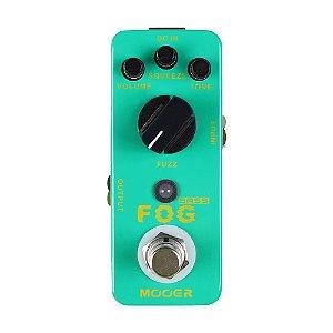 Pedal Guitarra Mooer Fog Bass Fuzz