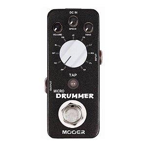 Pedal Guitarra Mooer Micro Drummer