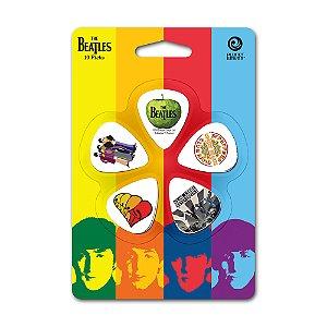 Palheta Planet Waves The Beatles Albums Light (Pack com 10)