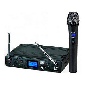 Microfone Sem Fio Karsect KRU361 Mao NG
