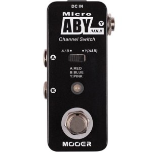 Pedal Looper Mooer Micro ABY MK II