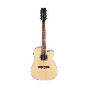 Violão Folk 12 Cordas Vintage VEC 501 N