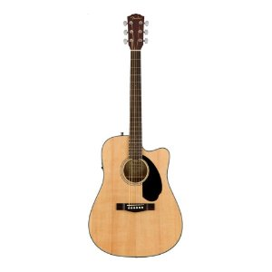 Violão Fender Dreadnought  CD 60 S Natural