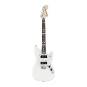 Guitarra Fender Ofset Mustang 90 RW Olympic White