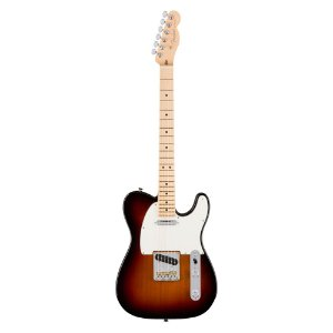 Guitarra Fender Am Professional Telecaster MN 3 Color Sunburst