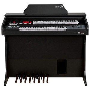 Orgão Eletrônico Harmonia HS-75 Preto Fosco